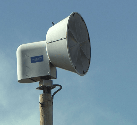 tornado siren newsflash
