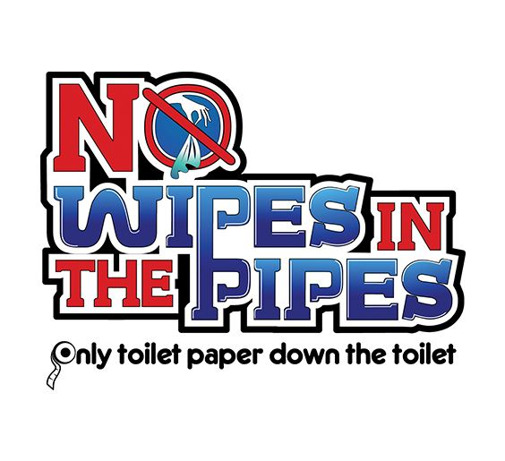 Image result for no wipes down the pipes