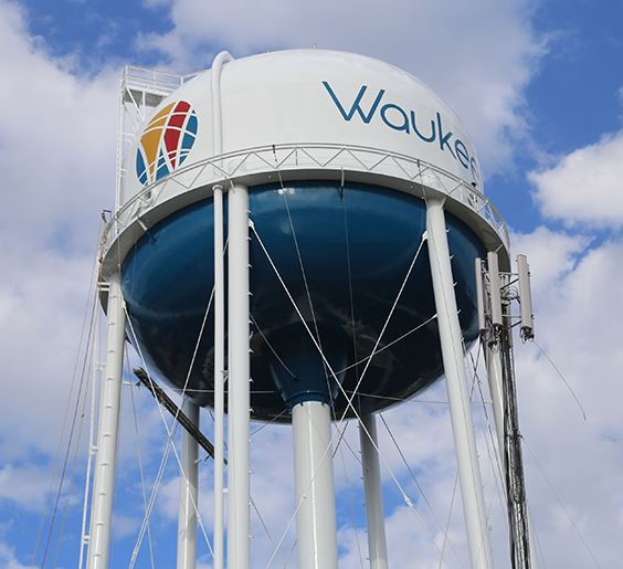 water tower NF