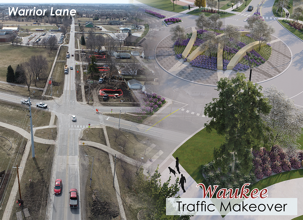 traffic makeover - warrior sized