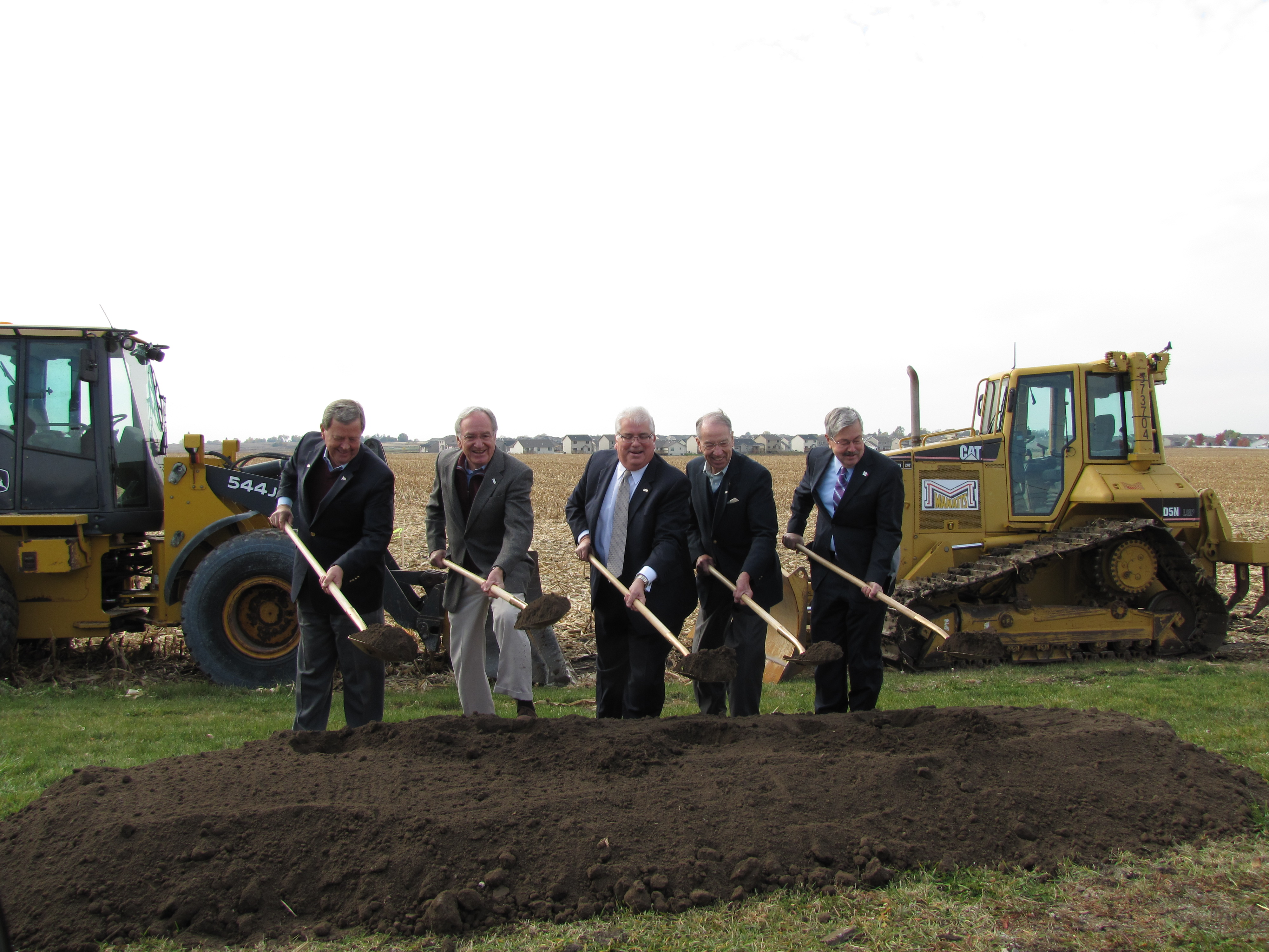 Officials break ground on Alice's Road Corridor