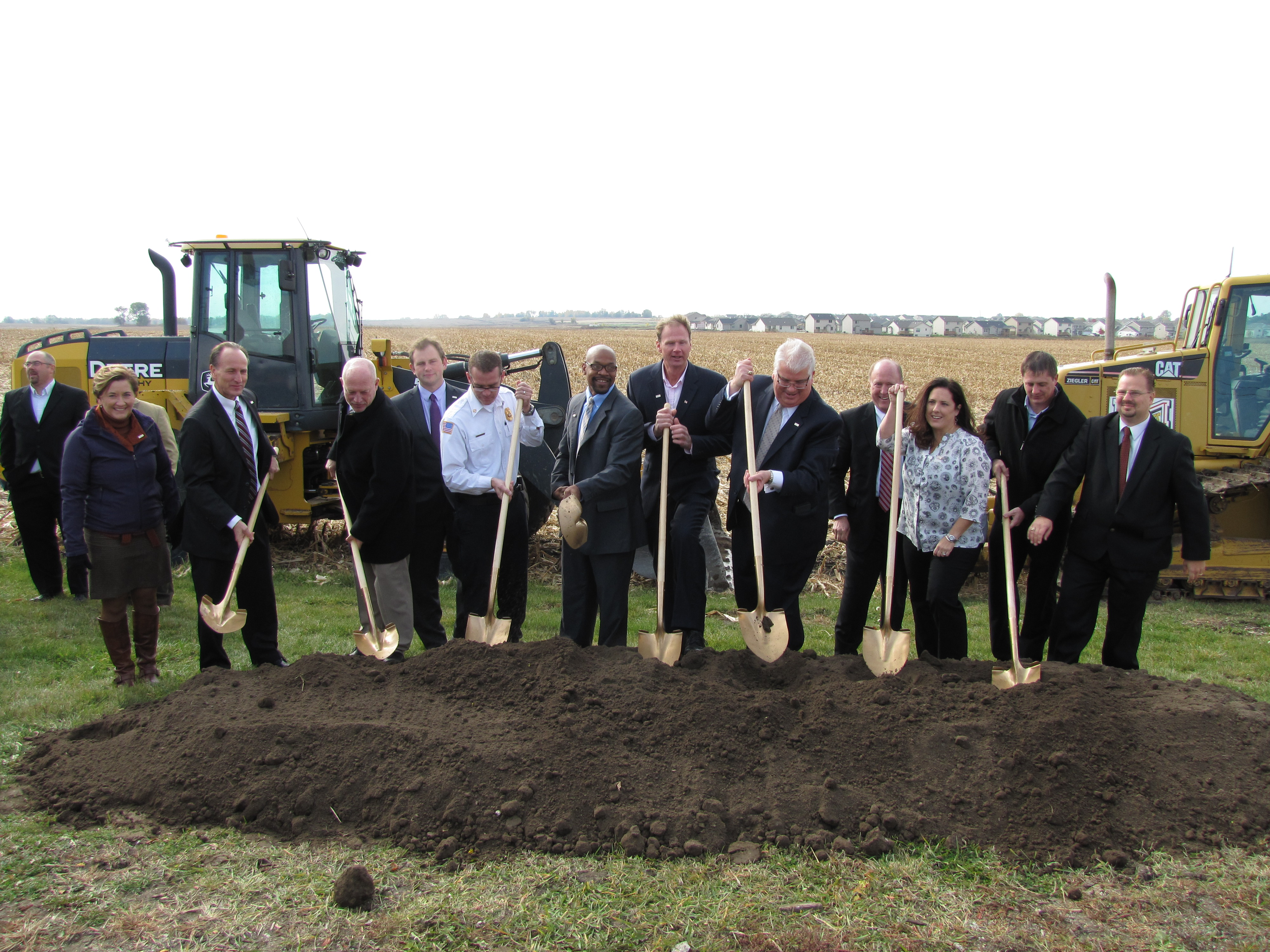Breaking ground on Alice's Road Corridor